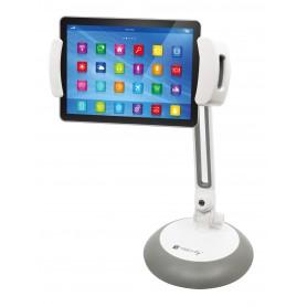 Supporto Universale da Tavolo per Smartphone e Tablet fino a 10''