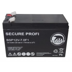 Batteria Piombo-Acido per UPS 12V 6,8Ah, BSP12V-7.0F1