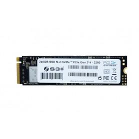 S3+ SSD 240GB S3+ SSD M.2 NVMe PCIe Gen 3 (2280)