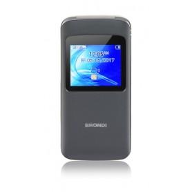 """BRONDI CELLULARE WINDOW DUAL SIM GSM QUAD BAND 1,77"""" A COLORI 1,3MP RADIO FM BLUETOOTH SLOT MICRO SD - COLORE ANTRACITE"""