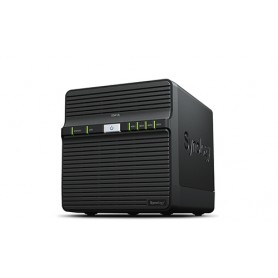 SYNOLOGY NAS 4BAY 3,5/2,5 HDD/SSD (MAX 8TB) 1,GGHZ 1GB USB3.0 1GBE