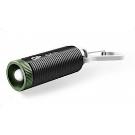 Torcia LED in Alluminio Anodizzato con Portachiavi