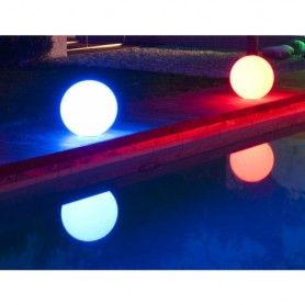 Techly Lampada Led Multicolor da Arredo Ball Large
