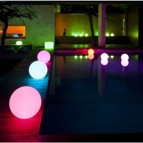 Techly Lampada Led Multicolor da Arredo Ball Medium