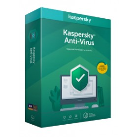 Kaspersky Lab Anti-Virus 2020 Licenza base 1 anno/i