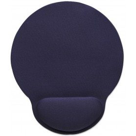 Tappetino con Poggia-Polso in Gel, colore Blu