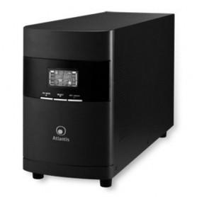 UPS ATLANTIS A03-OP2301 2300VA (1600W) LinePower Technology Quattro Batterie e interfaccia USB, Display LCD, Uscite: 4 IEC