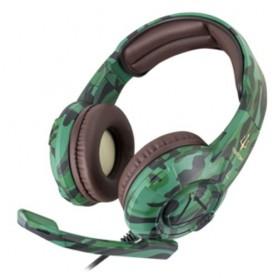 CUFFIA TRITON by Atlantis GAMING H747-C Camouflage padigl auricolari da 40mm, microfono e copritesta regolabile, 3.5mm