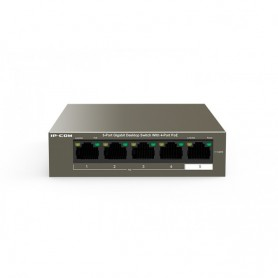 Switch 5 Porte 10/100Mbps Desktop con 4 porte PoE