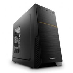 """CASE ATLANTIS M.TOWER ARIA C171 WL01-C171 1x5.25"""" 3(4)x3.5"""" 2(1)x2.5"""" 1xUSB2.0+1xUSB3.0 **INC. ANTIV. ATL** NO ALIM. BLACK/BLACK"""