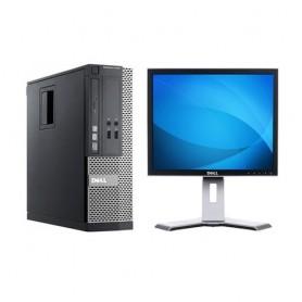 "BUNDLE PC DELL Optiplex 3010 SFF G6X0 DDR3 4GB 500GB W7P + MONITOR DELL 1908FPx 19"" LCD 1280x1024 - RABUNDLE16"