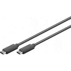 Cavo SuperSpeed USB-C 3.2 Maschio / Maschio 0,5m Nero