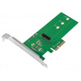 Adattatore da PCIe a M.2 PCIe SSD per SSD PCIe NVMe