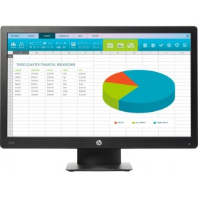 "HP ProDisplay P203 monitor piatto per PC 50,8 cm (20"") HD+ LED Nero"