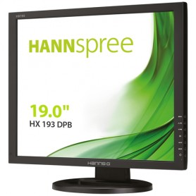 "Hannspree Hanns.G HX193DPB LED display 48,3 cm (19"") SXGA Nero"