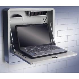 Box di Sicurezza per Notebook e Accessori per LIM Prof. 150 Grigio
