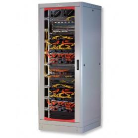 Armadio Server Rack 19'' 600x1000 27 Unita' Grigio serie Lite