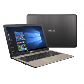 "ASUS X540BA-GQ522 Nero, Cioccolato Computer portatile 39,6 cm (15.6"") 1366 x 768 Pixel AMD A4 A4-9125 4 GB DDR4-SDRAM 500 GB HDD"