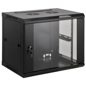 Intellinet 711753 rack 6U Da parete Nero