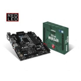 MSI MB Z170M MORTAR LGA1151 4*DDR4 2*PCI-E 6*SATA3 8*USB3.1 MICRO ATX