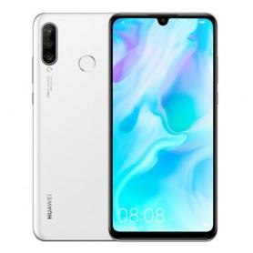 "SMARTPHONE HUAWEI P30 Lite 51093NNQ White 6,1"" DualSim Kirin980 OC 2.2+1.7GHz 6GB 128GB 40+16+8+32Mpx FP Android 9"