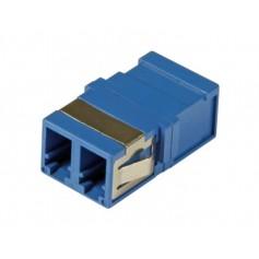 Adattatore a Bussola Keystone LC Duplex Monomodale OS2 Blu