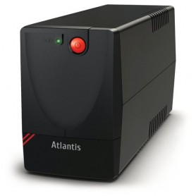 UPS ATLANTIS A03-X1000 750VA (375W) One Power Stepwave Line Interactive AVR (3 step) 2xSchuko