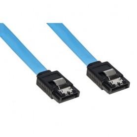 CAVO LINK SATA III CM 30 CONNETTORE CON CLIP BLOCCAGGIO IN METALLO