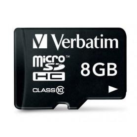 Verbatim 8GB microSDHC 8GB MicroSDHC Classe 10 memoria flash