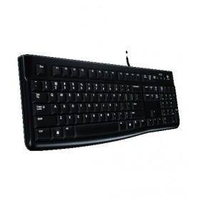 Logitech K120 USB QZERTY Italiano Nero tastiera