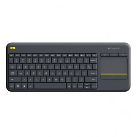 Logitech K400 Plus RF Wireless QWERTY Italiano Nero tastiera