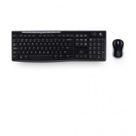 Logitech MK270 RF Wireless QWERTY Italiano Nero tastiera