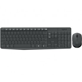 Logitech MK235 RF Wireless QZERTY Italiano Nero tastiera