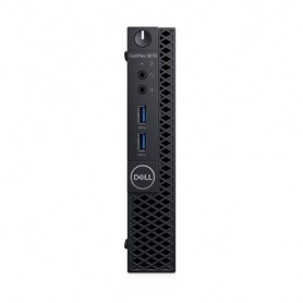 DELL OptiPlex 3070 Intel® Core™ i3 di nona generazione i3-9100T 4 GB DDR4-SDRAM 500 GB HDD MFF Nero Mini PC Windows 10 Pro