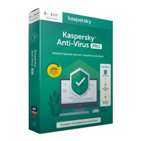 KASPERSKY ANTIVIRUS PRO 2020 3 USER KL1171T5CFS-20SLIMPRO