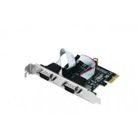 i-tec PCE2S scheda di interfaccia e adattatore RS-232 Interno