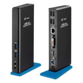 i-tec U3HDMIDVIDOCK replicatore di porte e docking station per notebook USB 3.0 (3.1 Gen 1) Type-A Nero