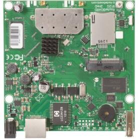 RouterBOARD 912UAG 600MhzAtheros CPU, 64MB RAM,1Gigabit LAN,USB,miniPCIe,built-in 2.4Ghz 802.11b/g/n 2x2 2chain wirel 2xMMCX