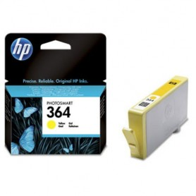HP Cartuccia originale inchiostro giallo 364