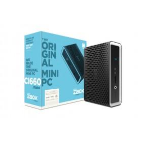 ZOTAC ZBOX BAREBONE CI660 NANO I7-8550U 2XDDR4 SODIMM SATA3 2XGLAN WIFI BT DP/HDMI