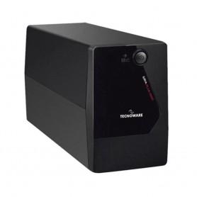 UPS TECNOWARE ERA PLUS 1600 1600VA/1120W Tecnolog LineInteractive con stabiliz ondaPseudosinusoidale Schuko USB FGCERAPL1602SCH