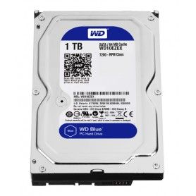 WESTERN DIGITAL HDD BLUE 1TB 3,5 7200RPM SATA 6GB/S 64MB CACHE