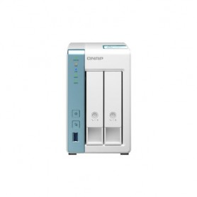 "NAS QNAP TS-231K x 2HD 3,5""/2,5""SATA6 NO HDD 2P GIGABIT 3P USB3.0 1GB QUADCORE A214 1.7GHZ"