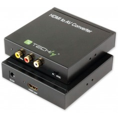 Techly Convertitore HDMI AV a 3xRCA (IDATA SPDIF-4)