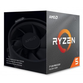 CPU AMD RYZEN 5 3600XT 4.50 GHz 6 CORE 36MB SKT AM4 - 95W BOX CON WRAITH SPIRE COOLER - 100000281BOX