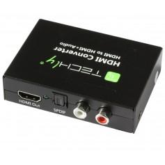 Techly Estrattore Audio HDMI SPDIF+RCA R/L (IDATA HDMI-EA)