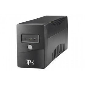 iTek WalkPower 650 650VA 2AC outlet(s) Torre Nero gruppo di continuità (UPS)