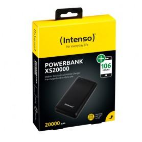 INTENSO POWER BANK 20000MAH USB A+TYPE C 5V-3.1A MICRO USB+TYPE C 5V-2.4A BLACK