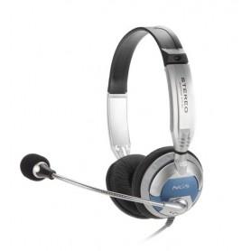 NGS MSX6Pro Stereofonico Padiglione auricolare Grigio cuffia e auricolare