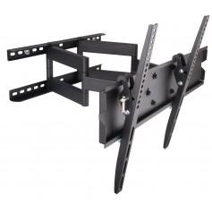 Techly Supporto a Muro per TV LED LCD 23-55'' Full Motion Braccio Doppio (ICA-PLB 147M)